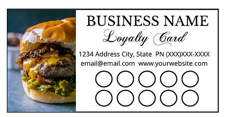 loyalty card creative